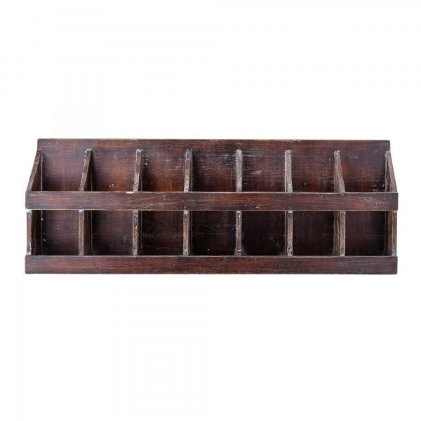 Bloomingville Wandregal Regal Aufbewahrungsbox Holz