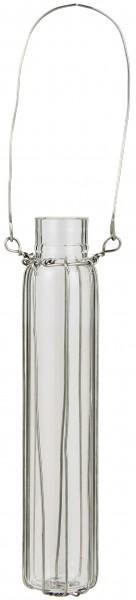 Ib Laursen Vase Reagensglas Drahthänger