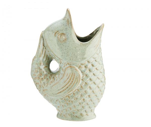 Madam Stoltz Vase Fisch Blumenvase