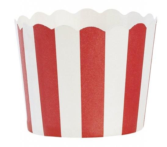 Miss Ètoile Muffinform mit rote Streifen