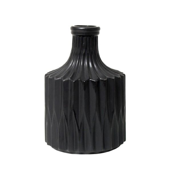 HK living Vase GEOMETRIC black