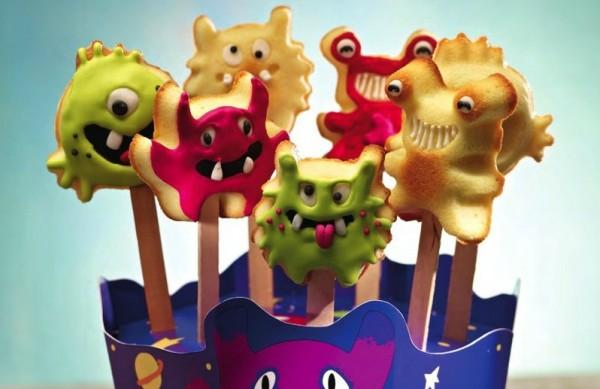 Cake Pops Baker Monster