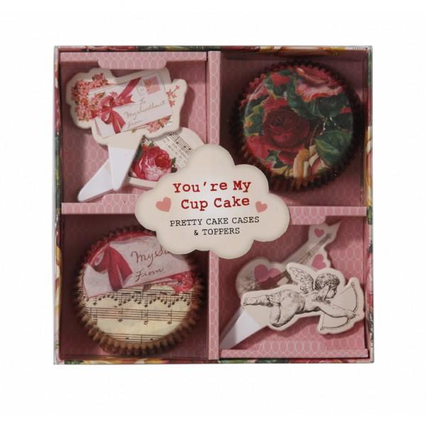 Cupcake Set Romantik