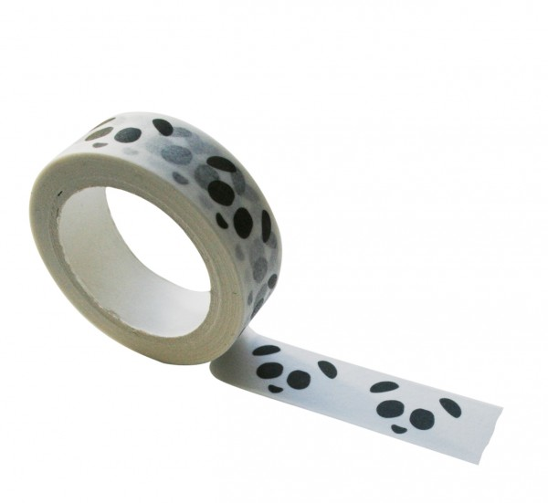Masking tape Panda black & white
