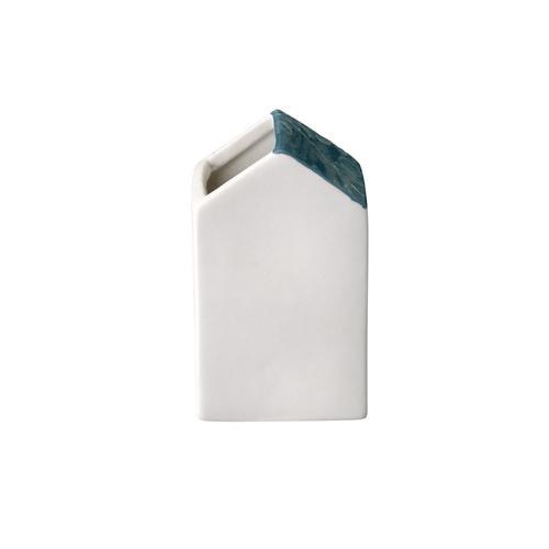 bloomingville haus vase wei petrol lille sted ihr online shop f r skandinavische wohnart. Black Bedroom Furniture Sets. Home Design Ideas
