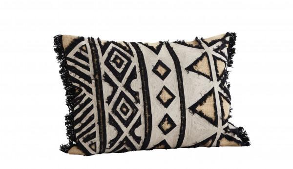 Madam Stoltz Kissenbezug bestickt Aztekisches Muster Ethno