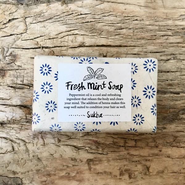 Atelier Sukha Amsterdam SEIFE  Fresh Mint Soap