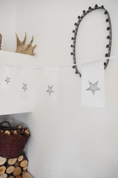 Afro Dutch Paperstone Girlande STAR Sterne