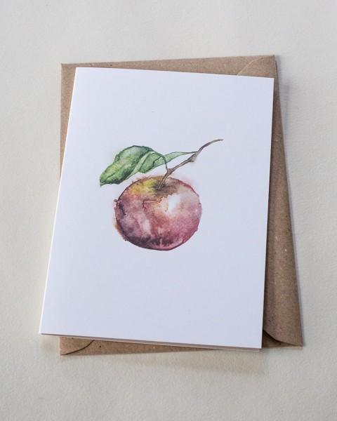 Backyard Stories Klappkarte Apple / Apfel