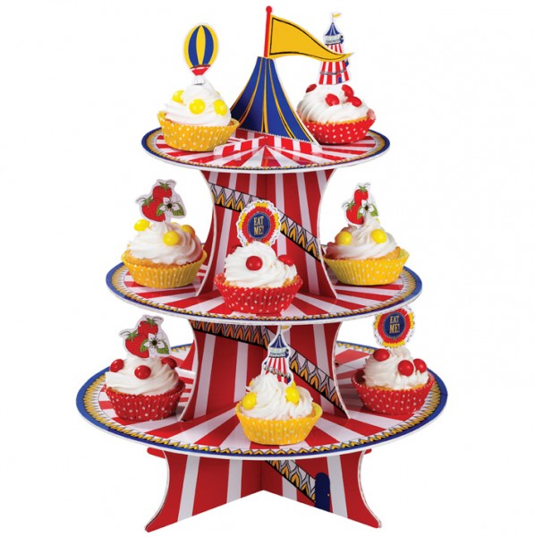 Cakestand Cupcake Zirkus Etagere Talking Tables