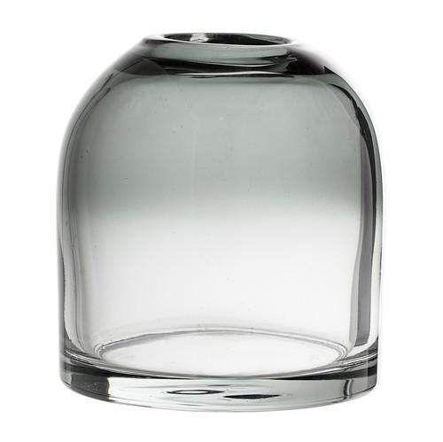 Bloomingville Glas Vase grau