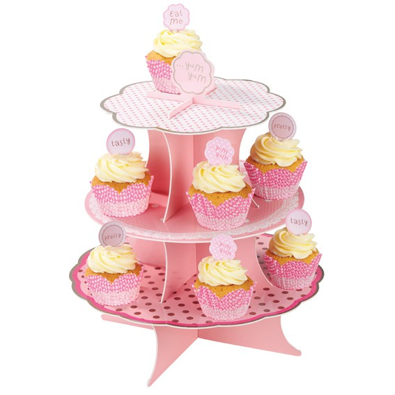 Cakestand Cupcake Stand Etagere Pink