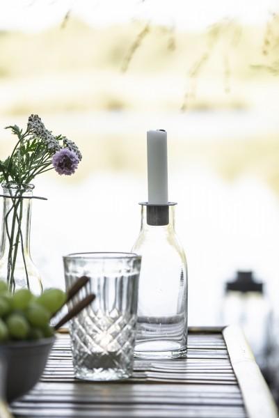 Ib Laursen Kerzenständer/Flasche mit abnehmbaren Kerzeneinsatz