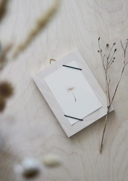 KARTENHALTER – RAHMEN – MINI incl. Postkarte