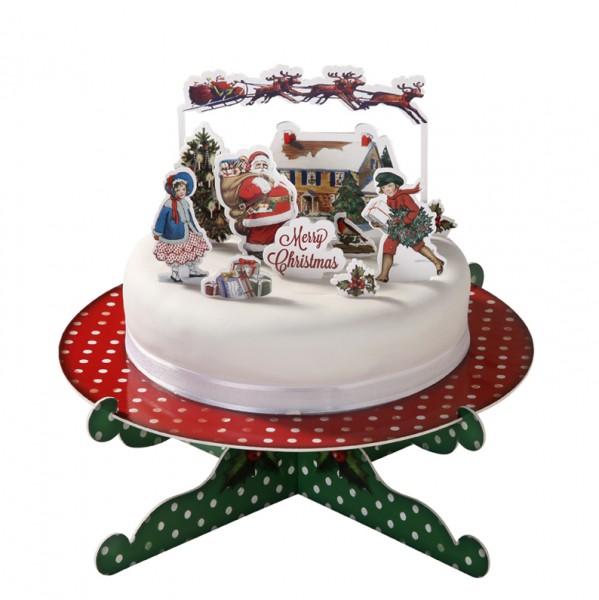 Weihnachten Torteneinstecker Tortendekor