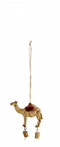 Weihnachten Anhänger Kamel mit Glocke