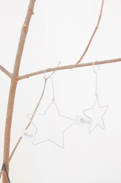 Handmade STAR 2. SET Weihnachtsanhänger