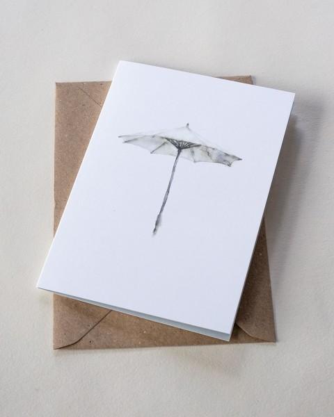 Backyard Stories PARASOL / SONNENSCHIRM Doppelkarte