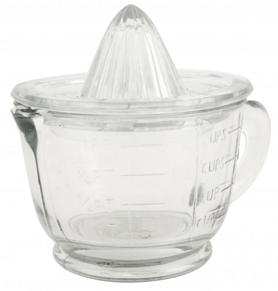 Ib Laursen Zitronenpresse Vintage aus Glas