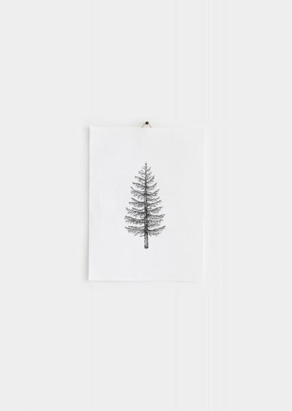 Weihnachtsbaum_Poster-Plakat-schwarz_weiß- mini-1