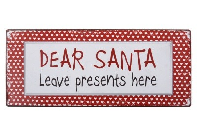 Ib Laursen Magnet Dear Santa leave presents here