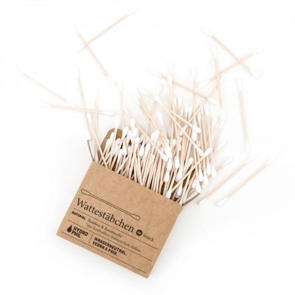Wattestäbchen aus Bambus & Bio-Baumwolle