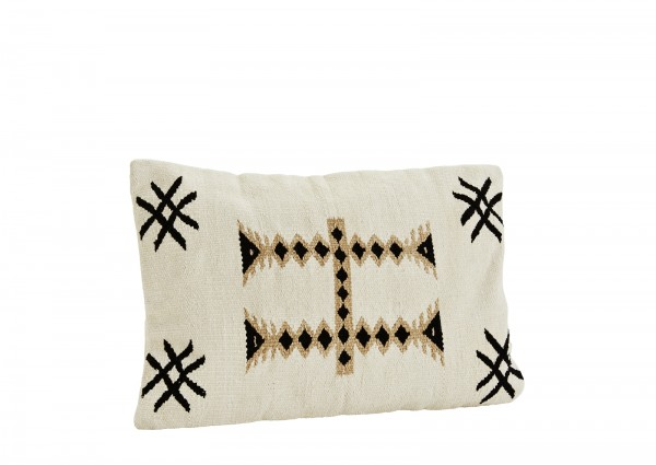 Madam Stoltz Kissen CHENILLE CUSHION COVER