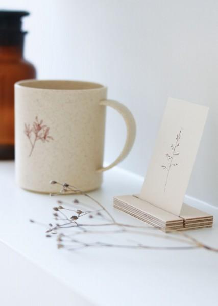 Postkartenhalter mini Holz
