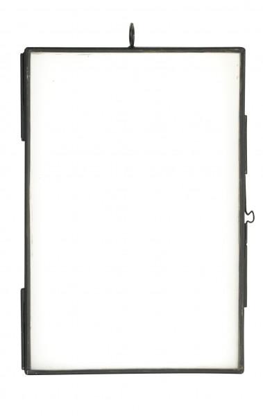 Madam Stoltz Bilderrahmen Metall schwarz 10x15 cm
