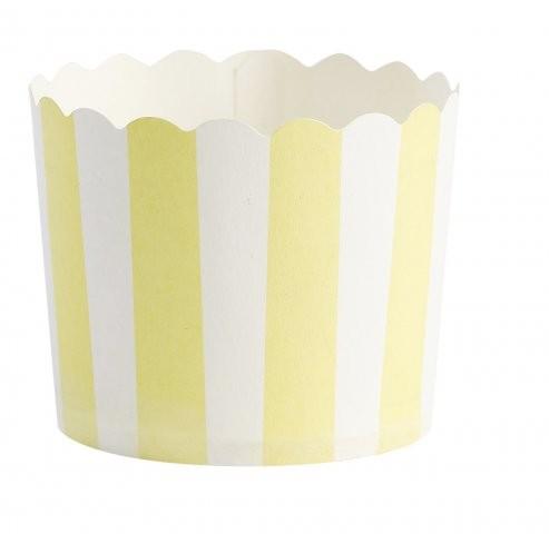 Miss Etoile Muffinförmchen gelb