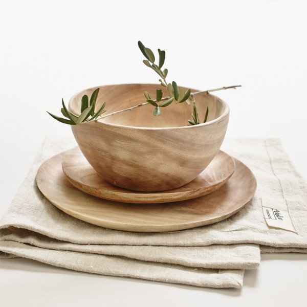 Holzschale Bowl Neem Sukha Amsterdam