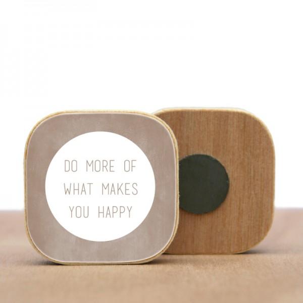Magnet Do more ....Holz verschiedene Farben
