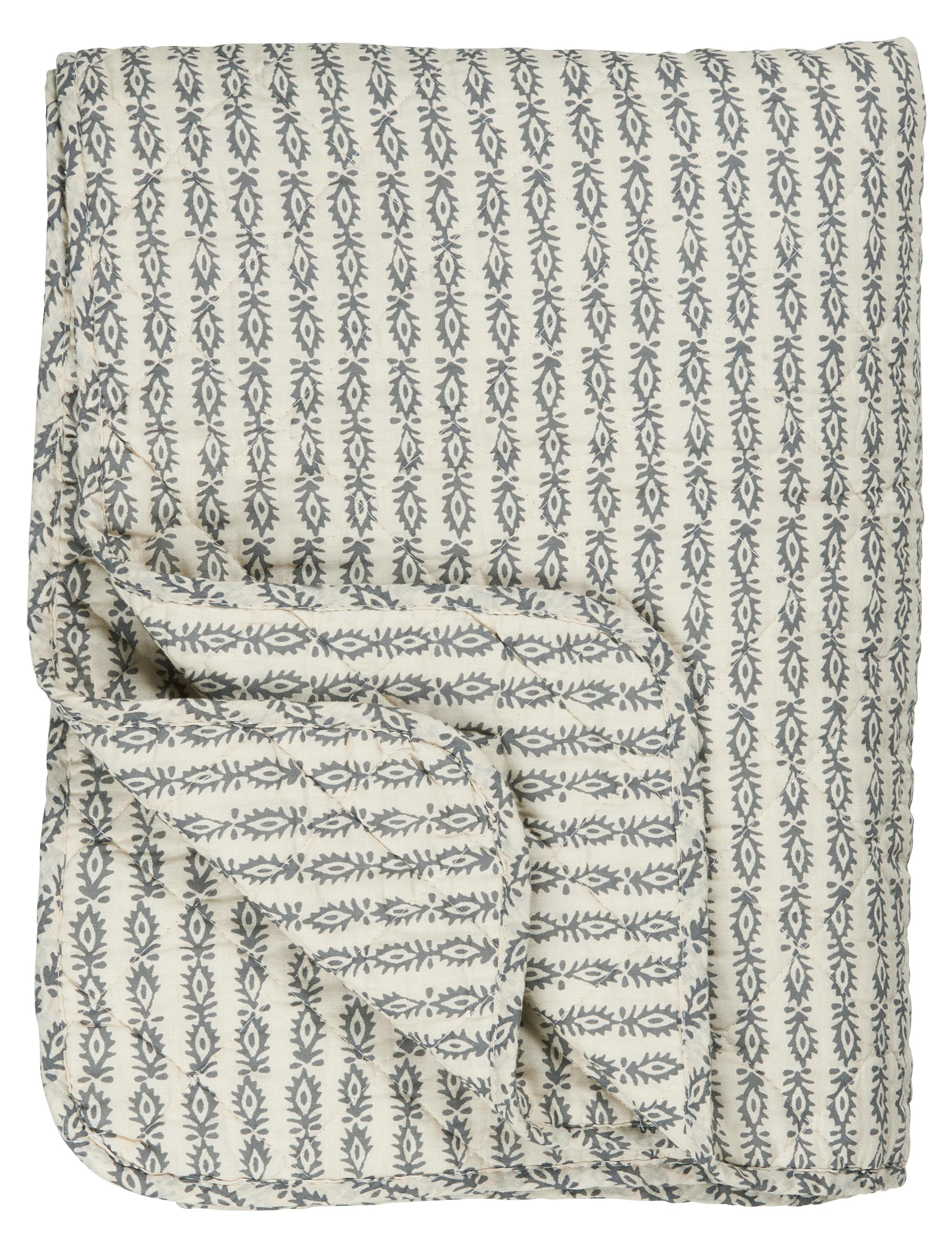 ib laursen quilt indian flower smoke 130x 180 cm lille sted ihr online shop f r. Black Bedroom Furniture Sets. Home Design Ideas