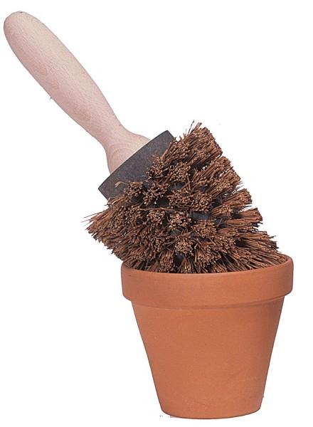 Redecker Blumentopfbürste Bürste für Blumentöpfe