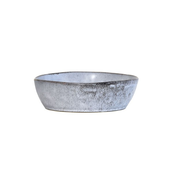 Hkliving Schale Schüssel Bowl RUSTIKAL grau-blau