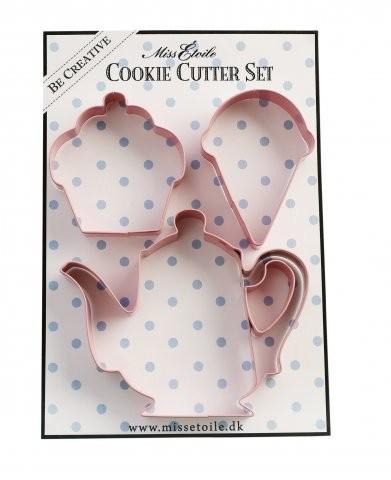 Miss Etoile Ausstecher-SET Eis, Cupcake & Kaffe Keksformen