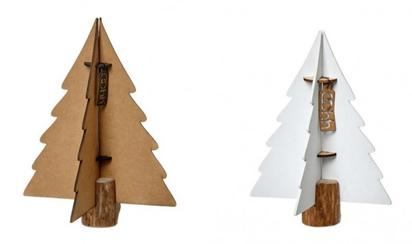 Xmas Weihnachtsbaum Paper Tree  Natural