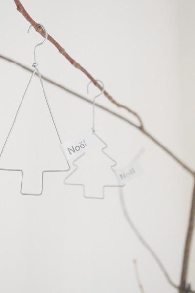 HANDMADE Weihnachtsanhänger TREE 2 Stück
