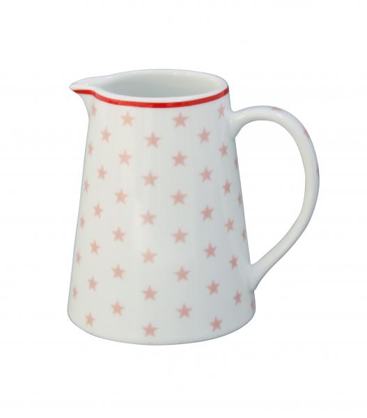 Krasilnikoff Milchkännchen Kanne Pink Star