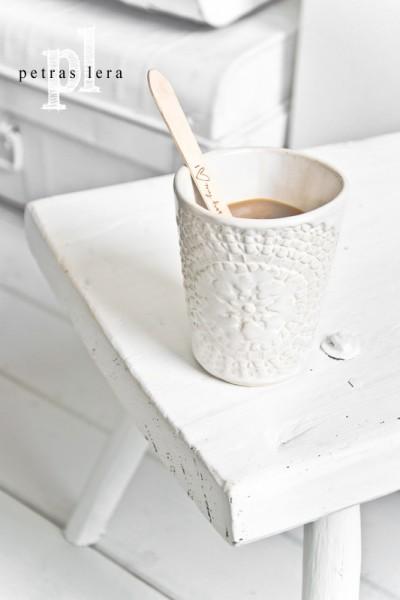 Petra Lund ETHNIC MUG Keramik weiss