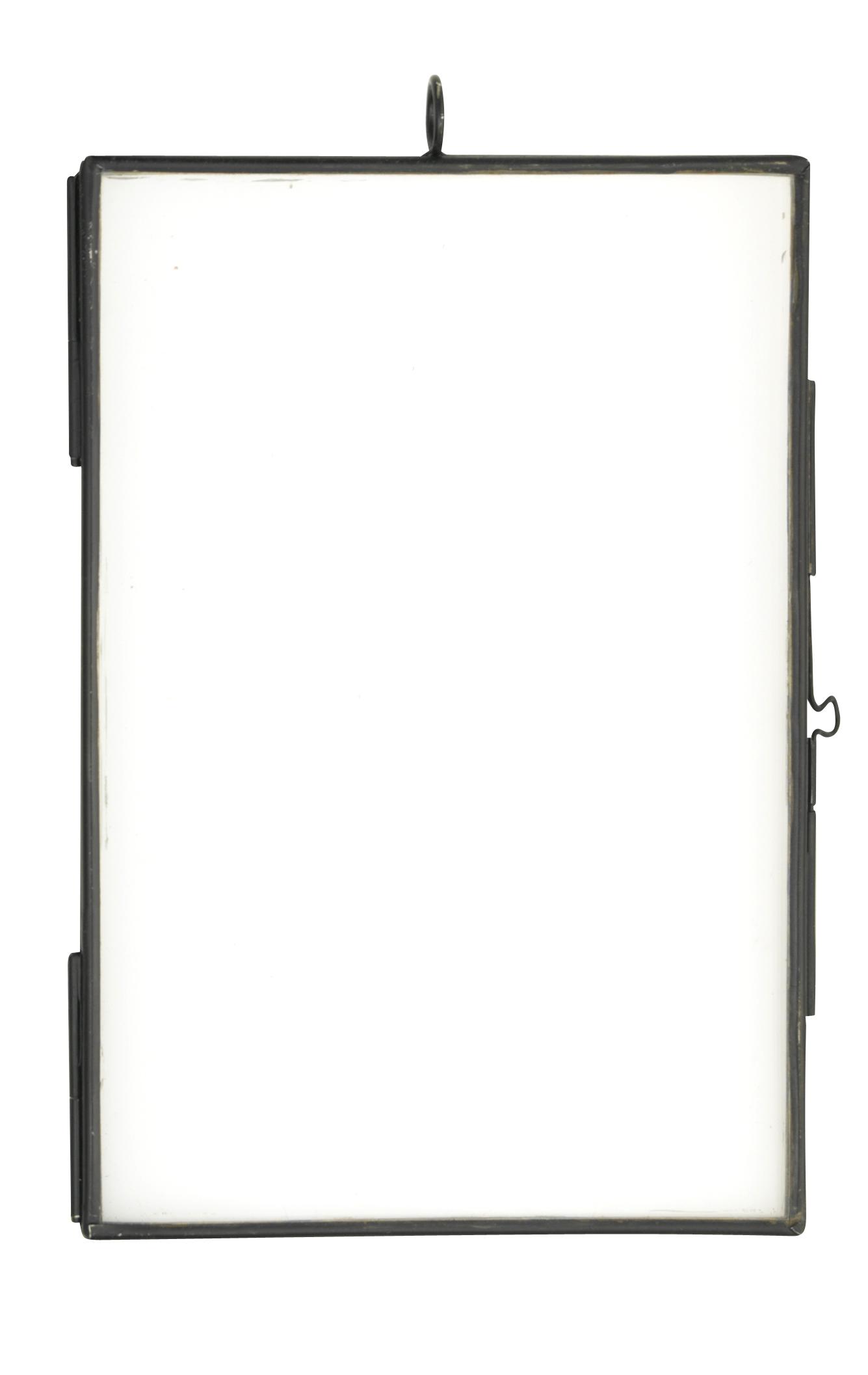 madam stoltz bilderrahmen metall schwarz 10x15 cm lille sted ihr online shop f r. Black Bedroom Furniture Sets. Home Design Ideas