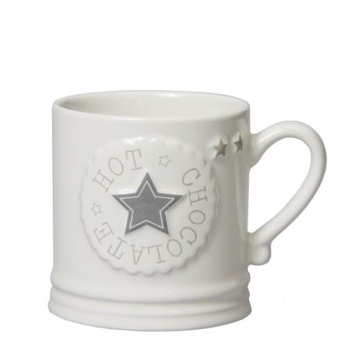 "Bastion Collections Mug Tasse ""Hot Chocolate Star"", large"