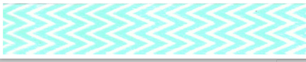 Chevron weiss mint Masking Washi Tape
