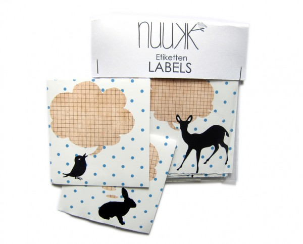 nuukk - Aufkleber -Etiketten - WIR SAGEN'S LAUT